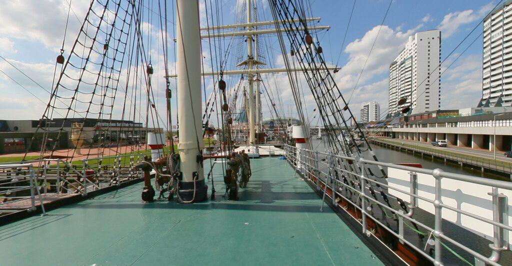 Bremerhaven - Deutsches Schifffahrtsmuseum - Segelschiff Seute Deern