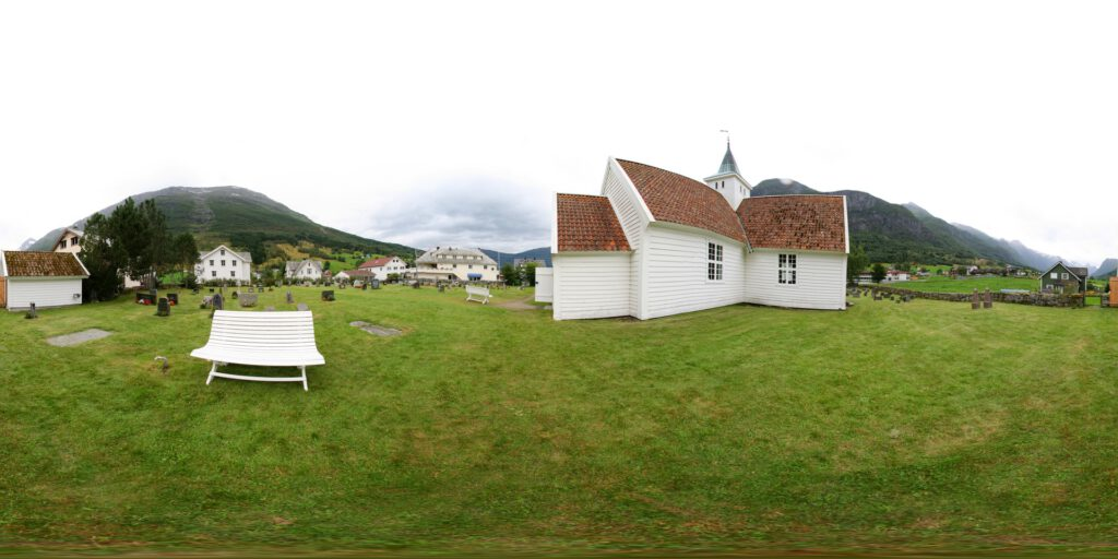 Norway - Olden - Old Church
